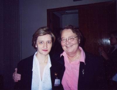 2004 г. II Международный симпозиум                     исследователей русского языка. С М.Л. Ремневой